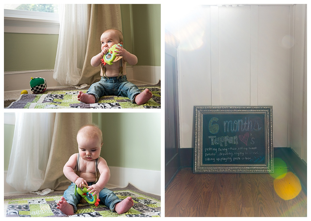 family photographer, 6 month old photography