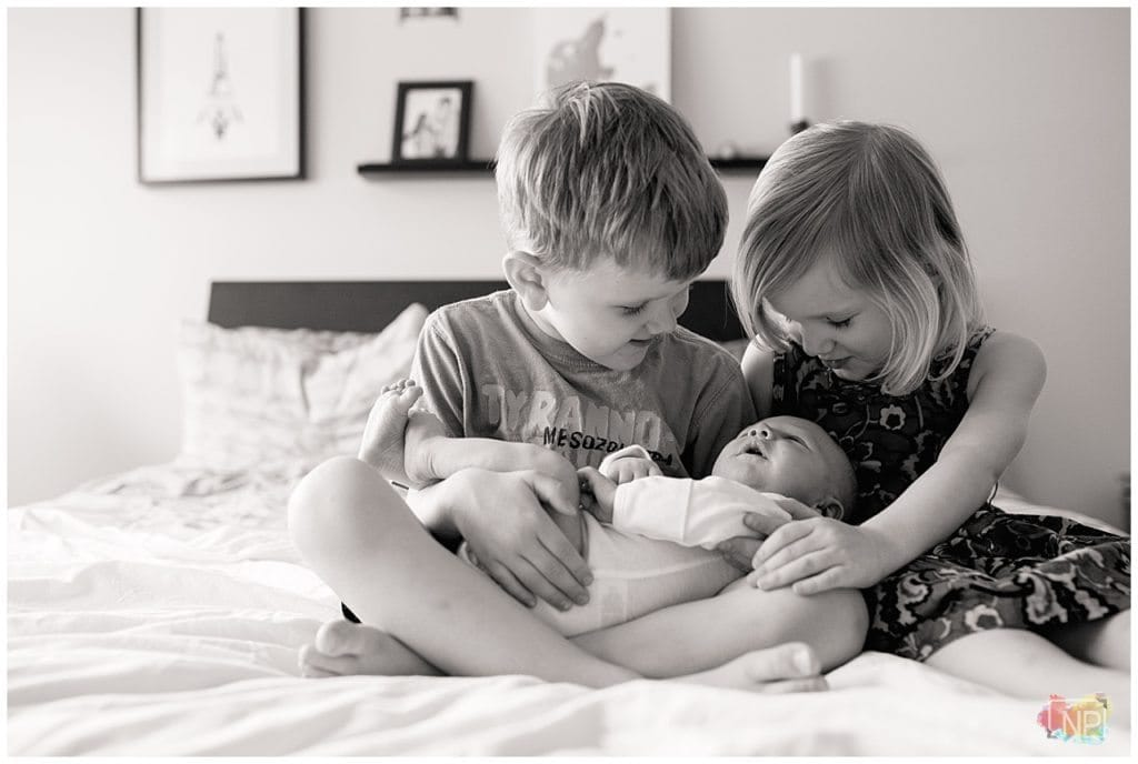 Happy Noises and Interruptions | Kirkland Newborn Photography