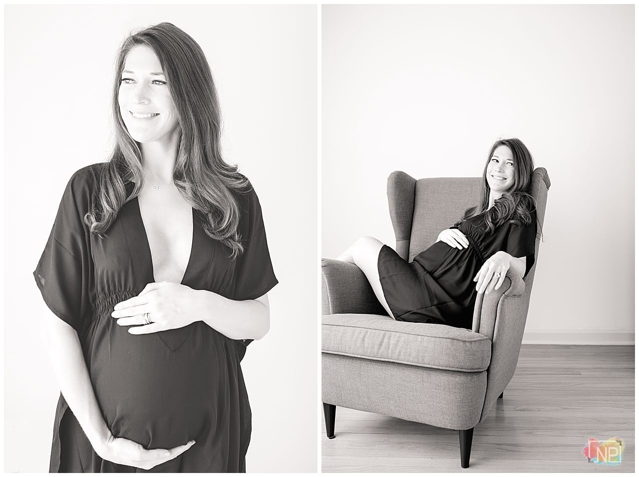 best maternity photographer seattle studio session