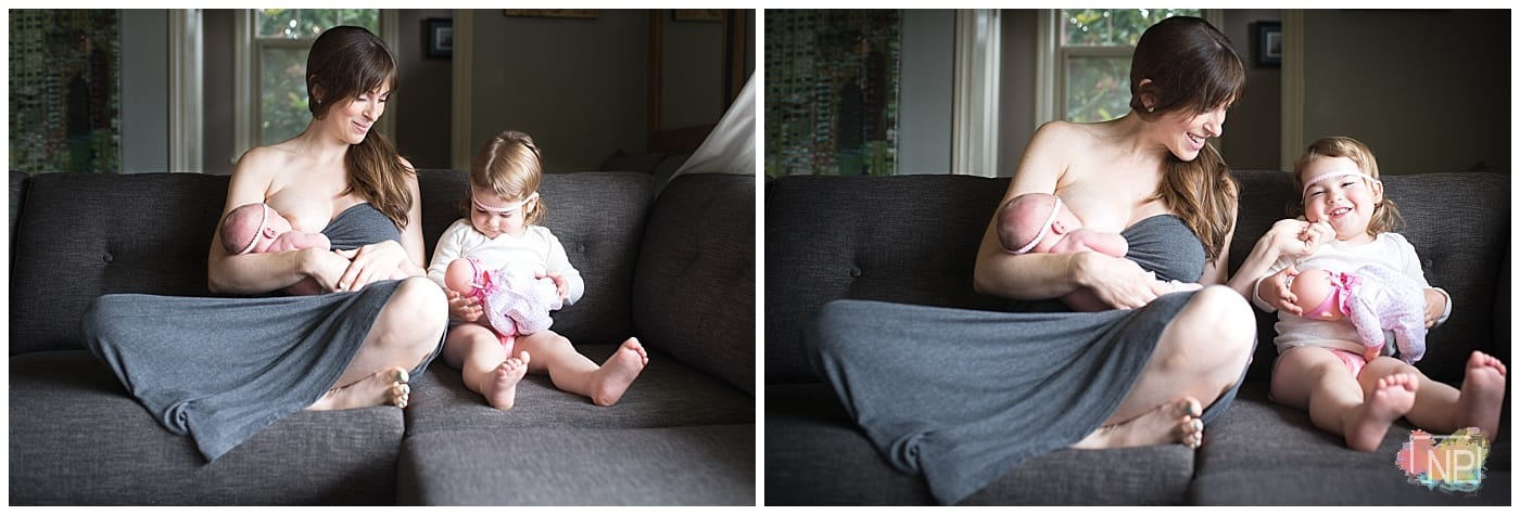 newborn photographer mercer island