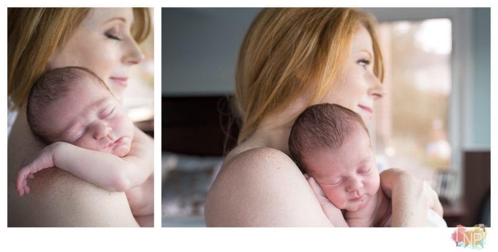 newborn photographer mercer island